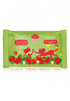 Strawberry Cat Kids Wet Wipes