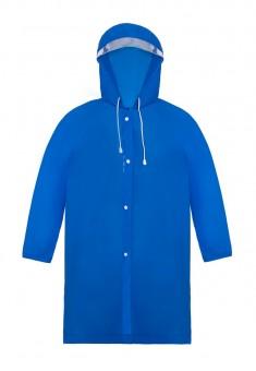 Kids Hooded Raincoat blue