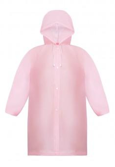 Плащ детский цвет розовый