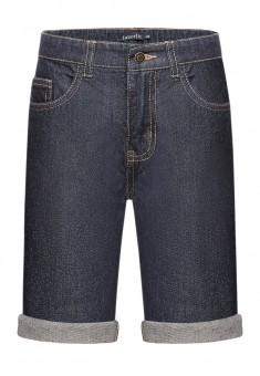 Шорты из джинсовой ткани для мальчика цвет темносиний