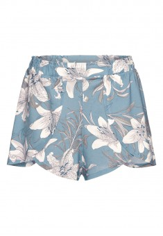 Shorts printed blue
