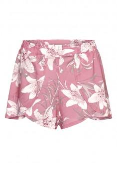 Shorts printed pink