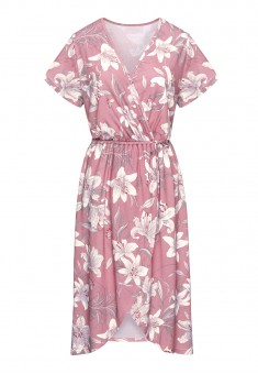 House Dress printed pink