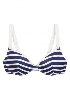 Push Up Bra marine print