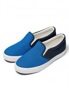 Слипоны для мальчиков Miko синие