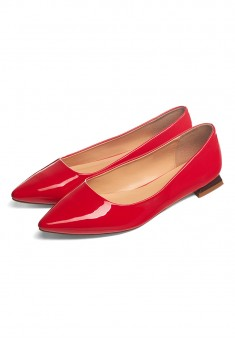 Arizu Ballerina Flats red
