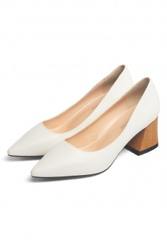 Riviera Pumps white