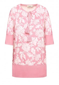 Floral Print Blouse light pink