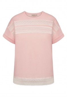 Lace Tshirt light pink