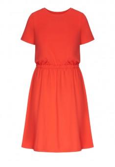 Платье цвет коралловый