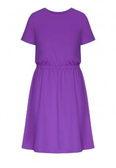 Платье цвет фиолетовый