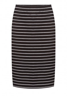 Striped Skirt black