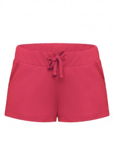 Shorts red berry