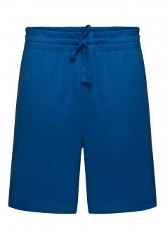 068M3401 Trikotāžas šorti vīriešiem spilgti gaiši zilā krāsā