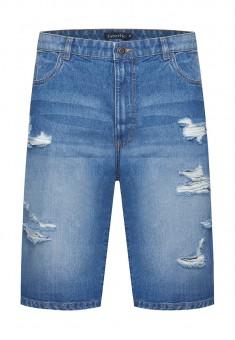 Джинсовые шорты для мужчины цвет голубой