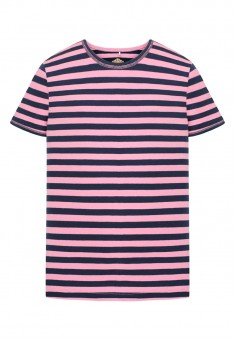 Girls Striped Tshirt pink