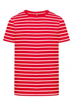 Boys Striped Tshirt red