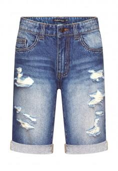 Шорты из джинсовой ткани для мальчика цвет голубой