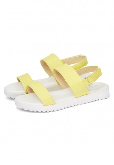 Girls Lime Sandals lemon
