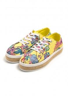 Flora Sneakers yellow