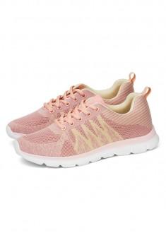 Step Sneakers pink