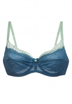 Dantel Underwired Bra emerald