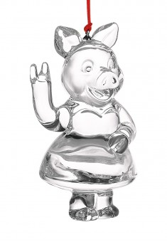 Стеклянная свинка