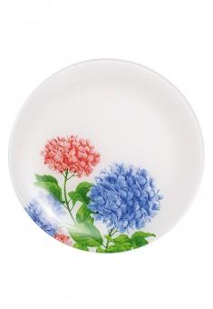 Stikla šķīvis Ziedu kolekcija diametrs 25 cm