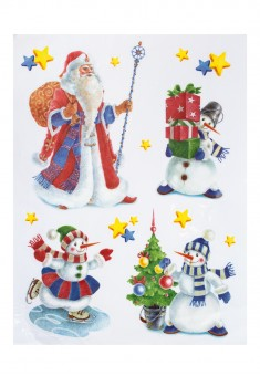 Colourful Stickers for Winter Holidays