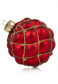 Small Christmas Ball red
