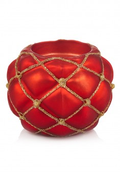 Candle Holder red