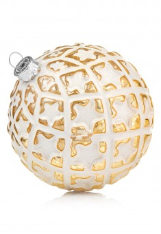Small Christmas Ball white