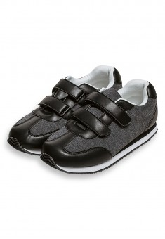 Boys Sporty Sneakers black