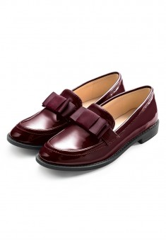 Girls Ophelia Loafers burgundy