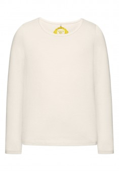 Girls Long Sleeve Tshirt milky