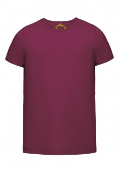 Girls Tshirt plum