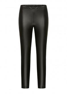 Утепленные брюки цвет черный