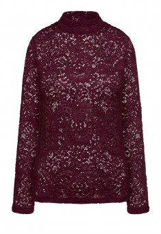 Lace Blouse burgundy