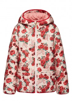 Girls Insulated Jacket peach pink
