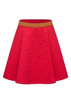 Girls Quilted Skirt raspberry