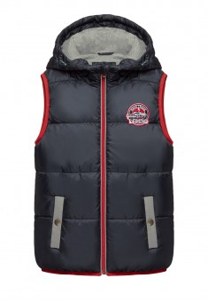 Boys Insulated Sleeveless Jacket dark blue