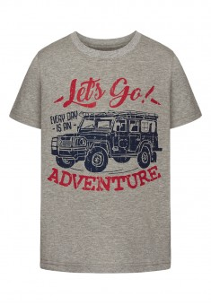 Boys Tshirt grey melange