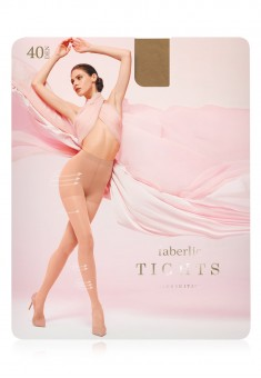 PressUp Tights 40 den sand