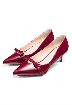Michelle shoes burgundy