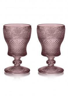Набор из двух бокалов цвет аметист