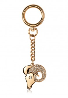 Aries Key Chain