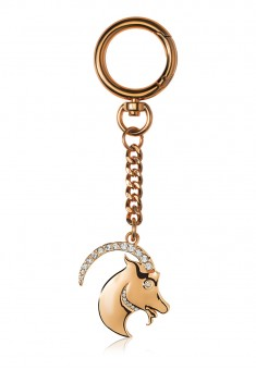 Capricorn Key Chain