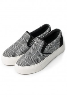 Lei Slipons blackwhite