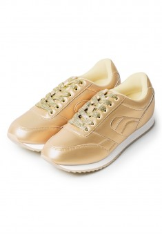 Fusion Sneakers gold