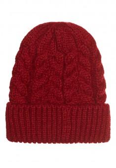 шапка червона